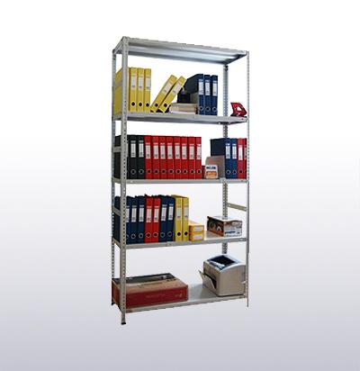 Стеллажи металлические архивные с нагрузкой на полку до 125 кг