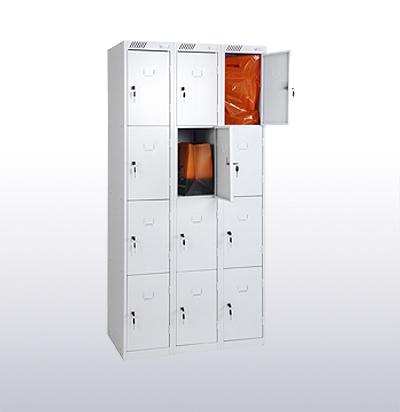 Шкафы металлические для хранения сумок