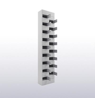 Шкаф с ячейками для хранения сотовых телефонов  СОТОВИК 17 , СОТОВИК 34
