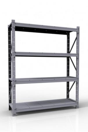 Стеллаж грузовой СГР 2500х1200х600, 4 яруса