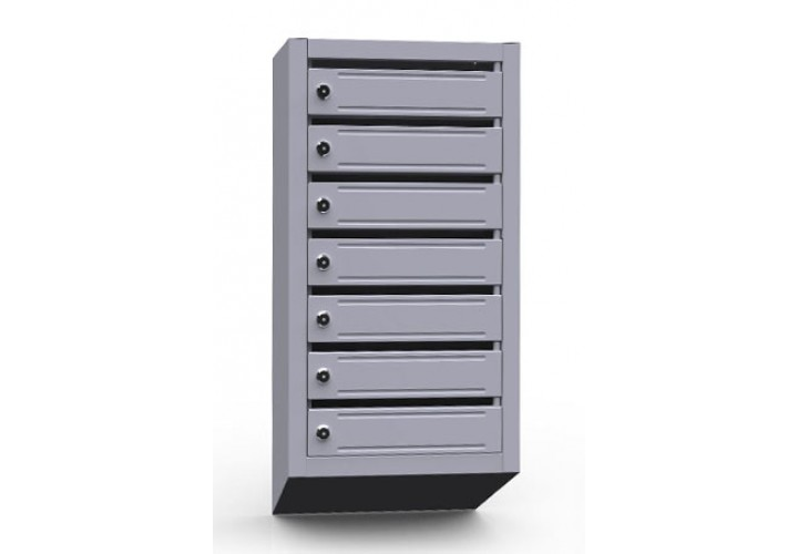 Шкаф металлический почтовый