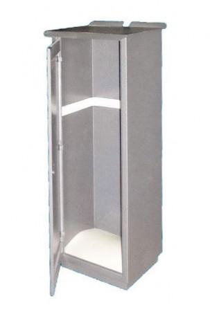 Шкаф для газовых баллонов одностворчатый
