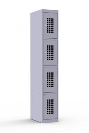 Шкаф сумочный ШР-14L_300 (перф. дв.)