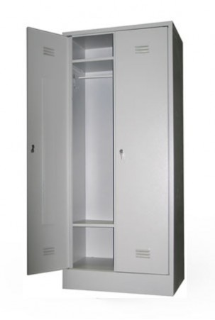 Шкаф для одежды сварной ШР-22/500 БП с замками