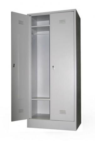 Шкаф для одежды сварной ШР-22/600 БП с замками