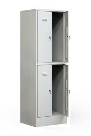 Шкаф для одежды сварной ШР-24/600 БП с замками